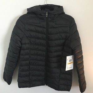 NWT Spyder Women's ThermalWeb Hooded Puffer Jacket